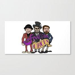 Three Amigos Color Print by Junior Bruce Canvas Print