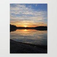 minnesota Canvas Prints featuring Minnesota Sunrise by Heartland Photography By SJW