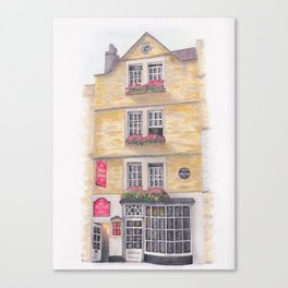 Sally Lunn's, Bath Canvas Print