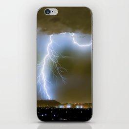 Into the Arizona Monsoon Evening iPhone Skin