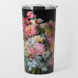 Lush Peachy Bouquet Travel Mug