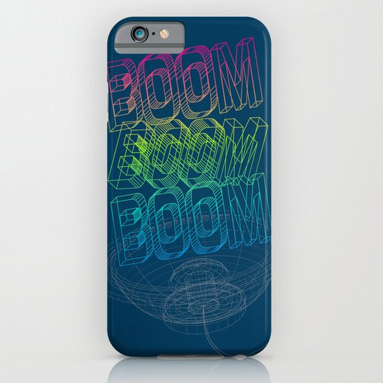 Boom Boom Boom iPhone & iPod Case