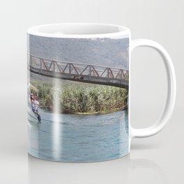 Boat Tour Along the Azmak Akyaka Turkey Coffee Mug
