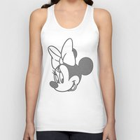 minnie Tank Tops featuring Minnie Mouse by tshirtsz