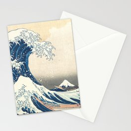 The Great Wave off Kanagawa (High Resolution) Stationery Cards