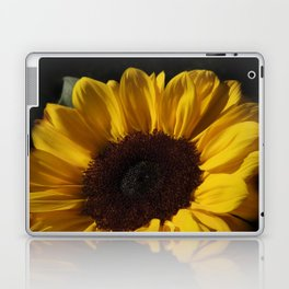 blossoms on black background -05- Laptop & iPad Skin