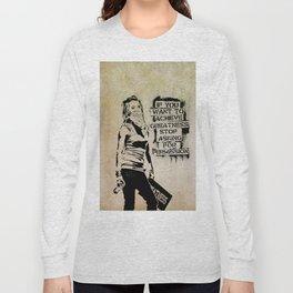 Banksy, Greatness Long Sleeve T-shirt