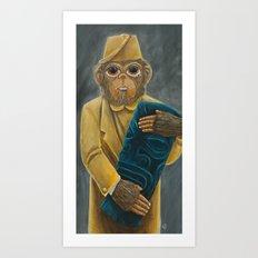 Thrift Store Find Art Print