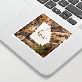 Georgia is Home - Camo Sticker