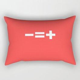 -=+ Rectangular Pillow