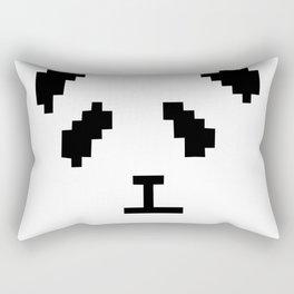 Pixel Panda Rectangular Pillow