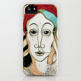 Angel Aiya Channeled Painting Sacred Art High Frequencies iPhone Case