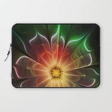 Neon Flower Laptop Sleeve