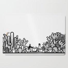 Chai and Cacti II Cutting Board