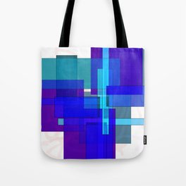 Squares combined no. 3 Tote Bag