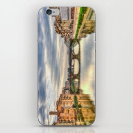 Arno River and Ponte Vecchio, Florence iPhone Skin