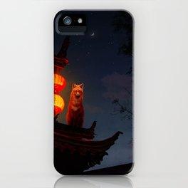 Fox Shrine Guardian  iPhone Case