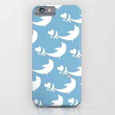 Joyful Dolphin Dancing in the Ocean Slim Case iPhone 6s
