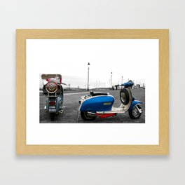 Two for the road Framed Art Print