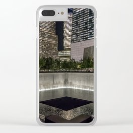 9-11 Memorial New York City Clear iPhone Case