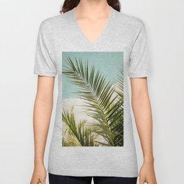 Palm Breeze Unisex V-Neck