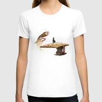 mushroom T-shirts featuring Mushroom by lightningMade