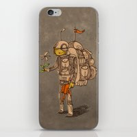 soldier iPhone & iPod Skins featuring Soldier by Pedro Hamdan