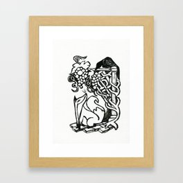 Aesop's Fox Framed Art Print