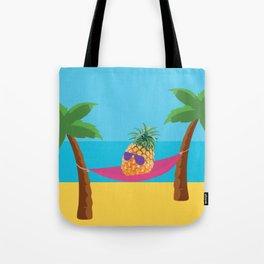 Hammock Hangs in Paradise Tote Bag