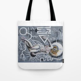 Mechanics of Consciousness • Christ Two • 2015 Tote Bag