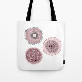 Girly Dots Tote Bag