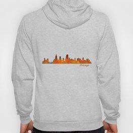 Chicago City Skyline Hq v1 Hoody