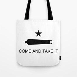 Texas Come and Take it Flag (high quality image) Tote Bag