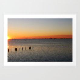 Southwest Florida Sunset Art Print