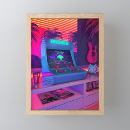 Arcade Dreams Framed Mini Art Print