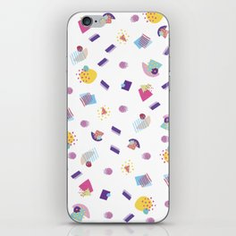 Valentine's Day Memphis Pattern iPhone Skin