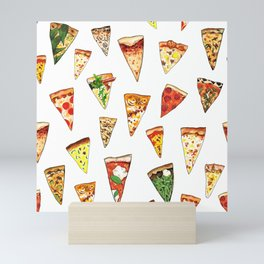 Pizza Pattern Mini Art Print