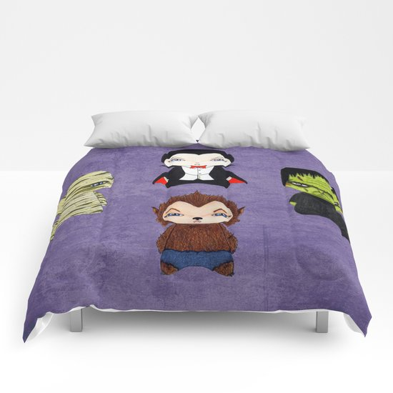 A Boy - Universal Monsters Comforters