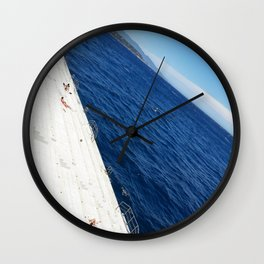 Modern Monaco Beach Wall Clock