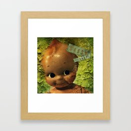 Sassy Baby Decay Framed Art Print