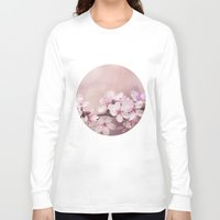 cherry blossom Long Sleeve T-shirts featuring Cherry Blossom by LebensART Photography