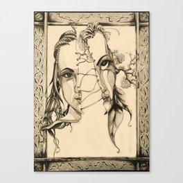 Bipolar by Kate Morgan Canvas Print