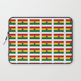 Flag of Ghana -Ghanaian,accra,kumasi,Akans,Dagbani,Tamale,Gold coast,Ashanti Laptop Sleeve