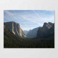 yosemite Canvas Prints featuring Yosemite by Cory Fitzpatrick