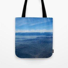 Blue in Peru Tote Bag