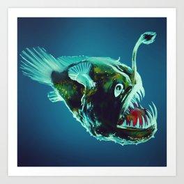 angler Art Print