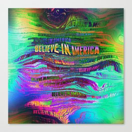 Believe In America Canvas Print