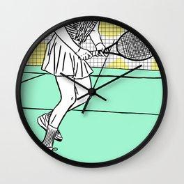 Gabi Sabatini Wall Clock