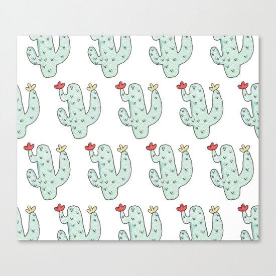 Cactus party print Canvas Print