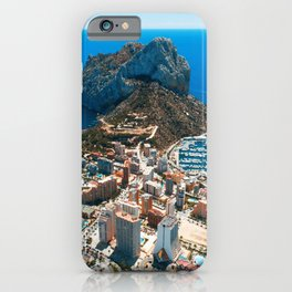 Calpe, Spain iPhone Case